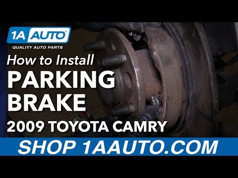 How to Replace Parking Brake Shoes and Hardware 06-11 Toyota Camry