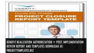 Project Closure Report Template With Complate Set Of Project Management Templates