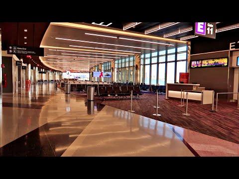 Terminal E Walkthrough @ Boston Logan International Airport