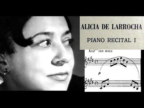 VINYL LP Debussy  Alicia de Larrocha, 1963: Arabesque No 1 and 2 in E major and G major