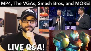 LIVE Q&A - Metroid Prime 4, Smash bros Ultimate,The Video Game Awards, & MORE! | Ro2R