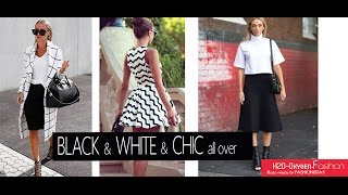 Black & White & Chic All Over - Outfit LookBook