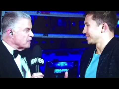 Gennady Golovkin REACTS To Andre Ward Knocking Out Sergey Kovalev In Rematch