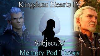 Kingdom Hearts IV (4) Memory Pod Theory