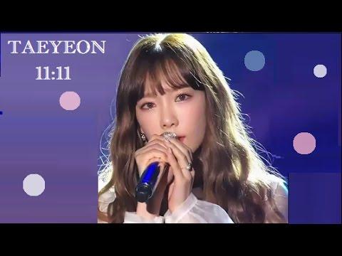 Free Download [hd] 161226 [snsd] Taeyeon / 11:11 - 2016 Sbs Gayo Daejun Mp3 dan Mp4
