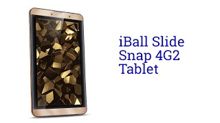 iBall Slide Snap 4G2 Tablet Specification [INDIA]