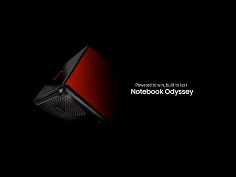 Samsung Notebook Odyssey (17-inch): Official Introduction