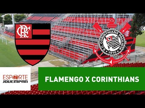 Transmissão AO VIVO - Flamengo x Corinthians