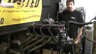 Ford 408w Live Engine Run By Proformance Unlimited...Ford Bronco