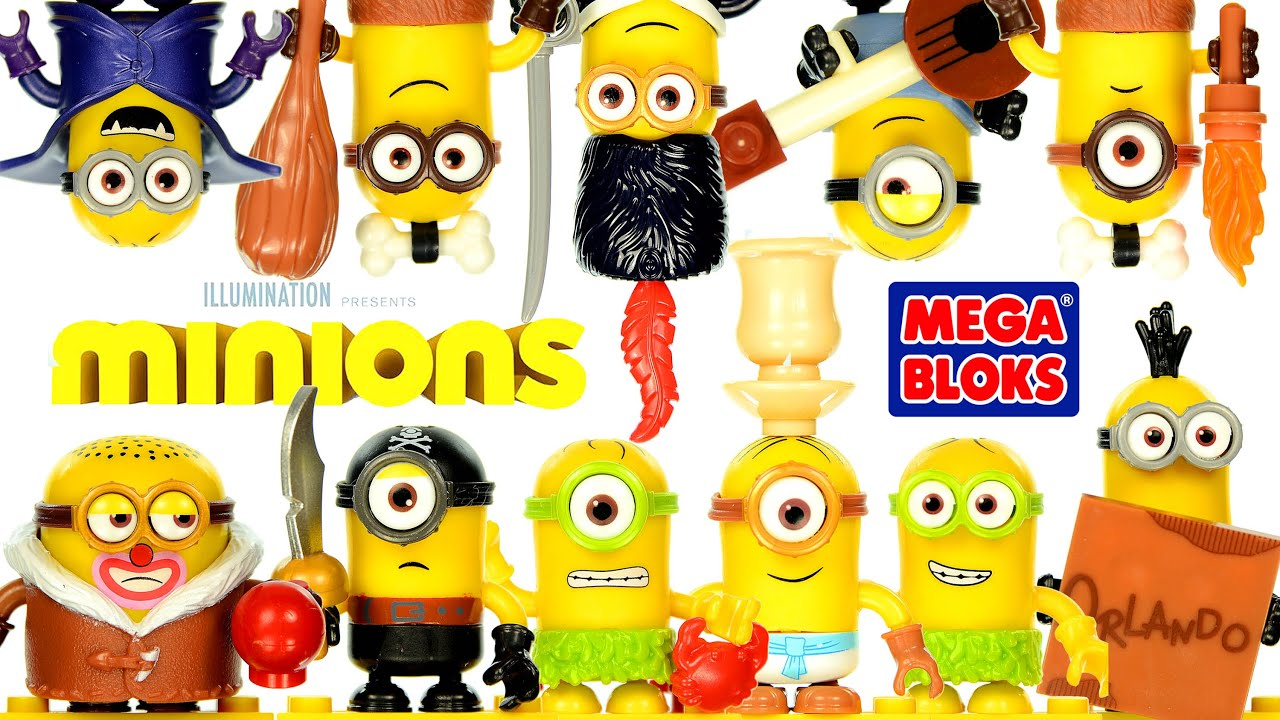 mega bloks build a minion kevin instructions