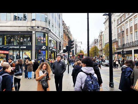 London Walk | Oxford Circus To Marble Arch Via Oxford Street