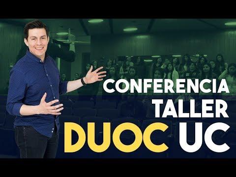 """Conferencia - taller: """"Ya es hora de hablar bien en público"""". DUOC UC."""