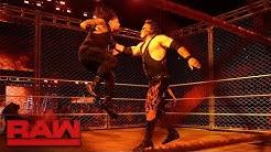 Kane Returns; Roman Reigns vs. Braun Strowman - Steel Cage Match: Raw, Oct. 16, 2017