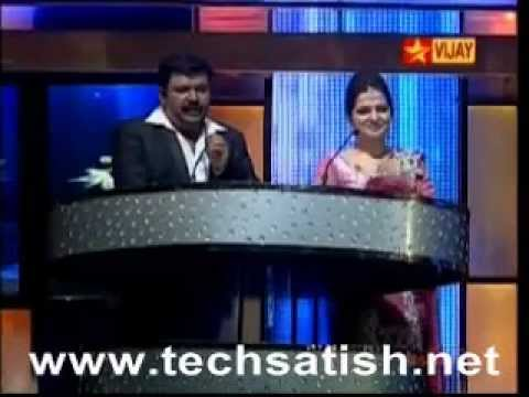 TRajendar in Vijay Music Awards