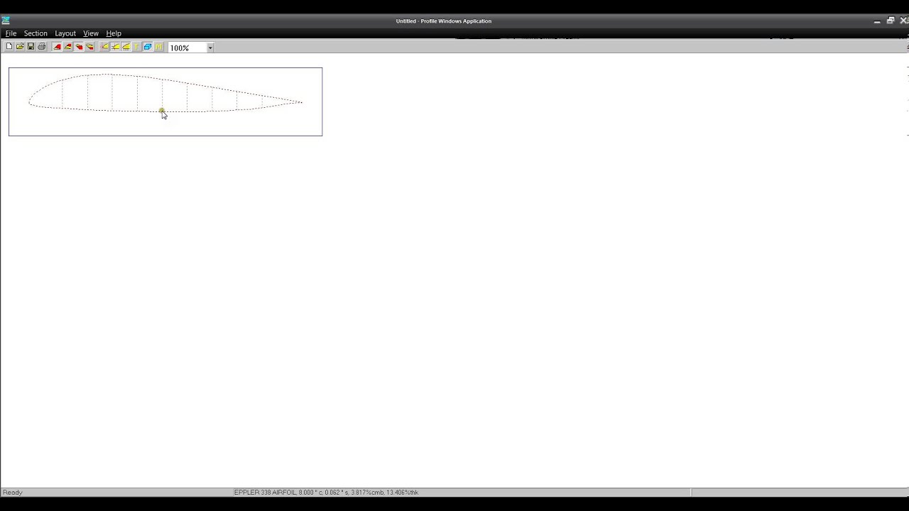 EASILY Make Airfoil Templates for FREE