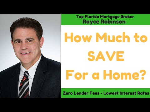 HOW MUCH TO SAVE FOR A HOUSE From Top Mortgage Broker RAYCE ROBINSON
