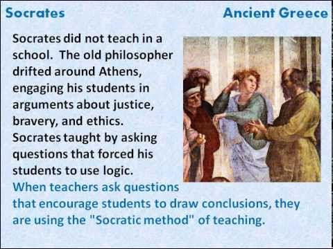 Image result for socratic thinking and the punishment for asking questions