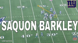My Observation of Saquon Barkley & What Makes Him Dangerous...