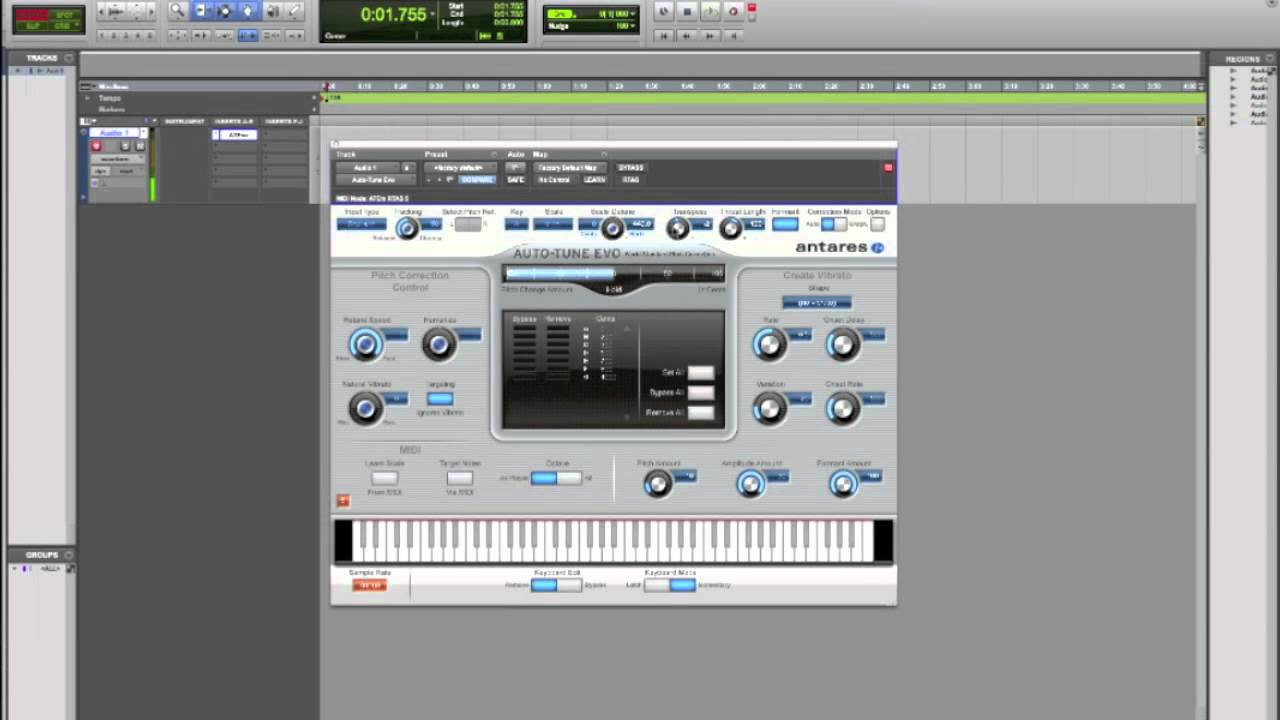 How to use auto tune vocal effects tutorial pro tools youtube