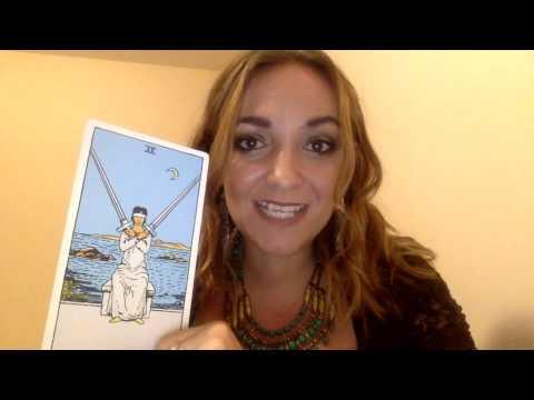 Tiffany Talks Tarot 24   The Two of Swords