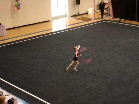 Rhythmic Gymnastics Carly Murray