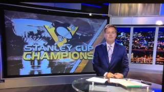 News reporter loses his cool - Pittsburgh Penguins - KDKA CBS - Bob Allen - Pittsburgh Penguins win