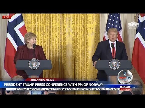 🔴LIVE: President Trump Press Conference with Prime Minister