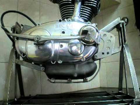Motor Ducati 125 Sport Youtube