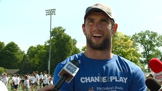 Colts QB Andrew Luck full interview on 6/21/19