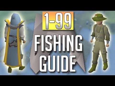 [OSRS] In-Depth 1-99 FISHING Guide (2018 Best Methods)