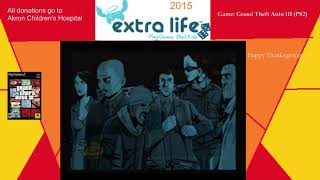 Extra Life 2015: Part 14D - Grand Theft Auto III