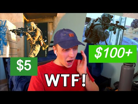 I Paid Video 'Editors' to Create a CRAZY Airsoft Compilation! *I DIDN'T EXPECT THIS*