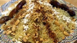 Moroccan Chicken Vermicelli (Seffa Medfouna) Recipe - CookingWithAlia - Episode 205