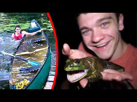 frog-gigging!!!-*gone-wrong*