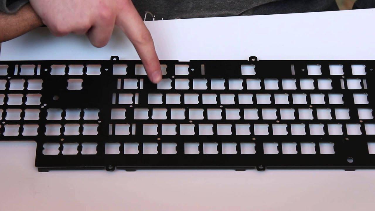 how to modify mechanical keyboard plate youtube