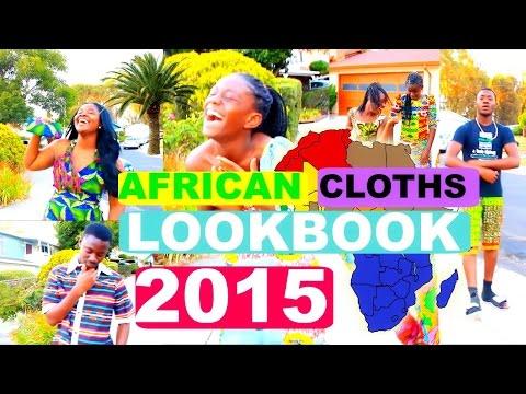 African Print / Cloths Lookbook 2015!!