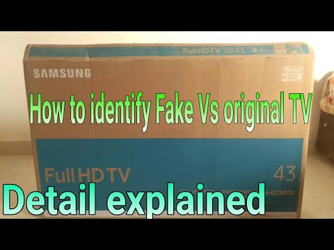 How to identify between Fake and Original TV | The Tech Show