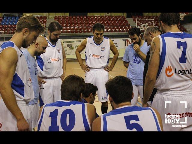 Vídeo: El Club Baloncesto Lucena cae ante La Rambla Cordobasket 45-60