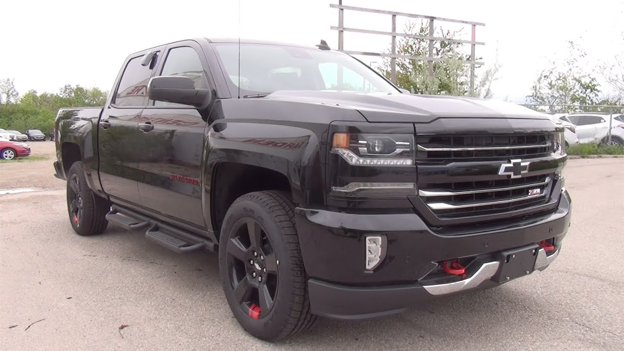 "2018 Silverado Redline Edition >> 2017 CHEVROLET SILVERADO 1500 CREW CAB SHORT BOX 4WD LTZ ""REDLINE EDITION"" 