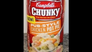 Campbell's Chunky Soup: Pub-style Chicken Pot Pie Review