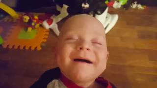 Baby Reaction to Parent Kiss - Funny Fails Baby Video