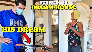 Surprising My FILIPINO CONSTRUCTION Worker in My Dream House! 🙏🏠