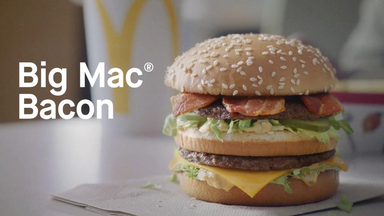 Super Est-ce qu'un Big Mac® avec du bacon est encore un Big Mac®? - YouTube VE38
