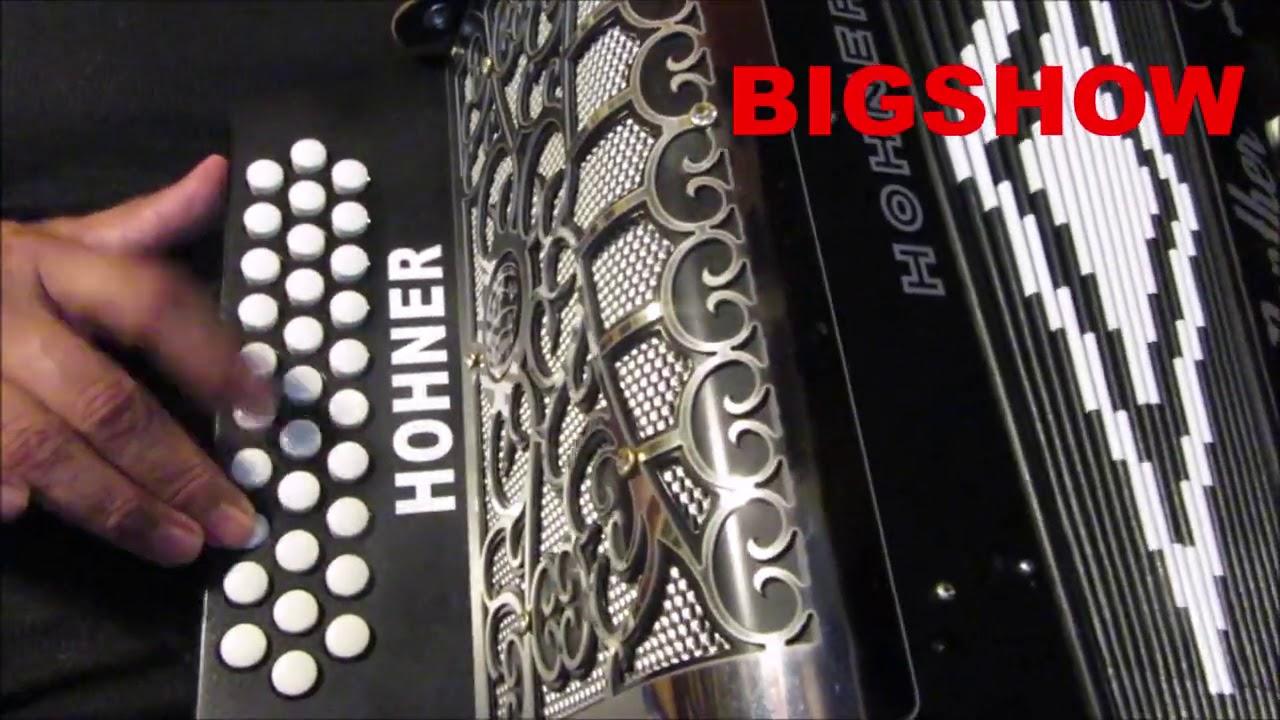 el envidioso tutorial instruccional version facil acordeon sol hohner panther nivel principiante