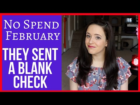 THEY SENT A BLANK CHECK - No Spend Update
