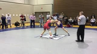 174 lbs: Anthony Falbo (SHU) vs Michael Omalley (Drexel)