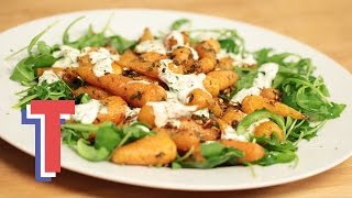 Roasted Baby Carrots With Coriander Yoghurt | Eat Clean S1e6/8