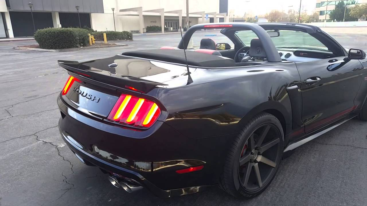 2016 ROUSH 2 CONVERTIBLE BLACK WIDOW  YouTube