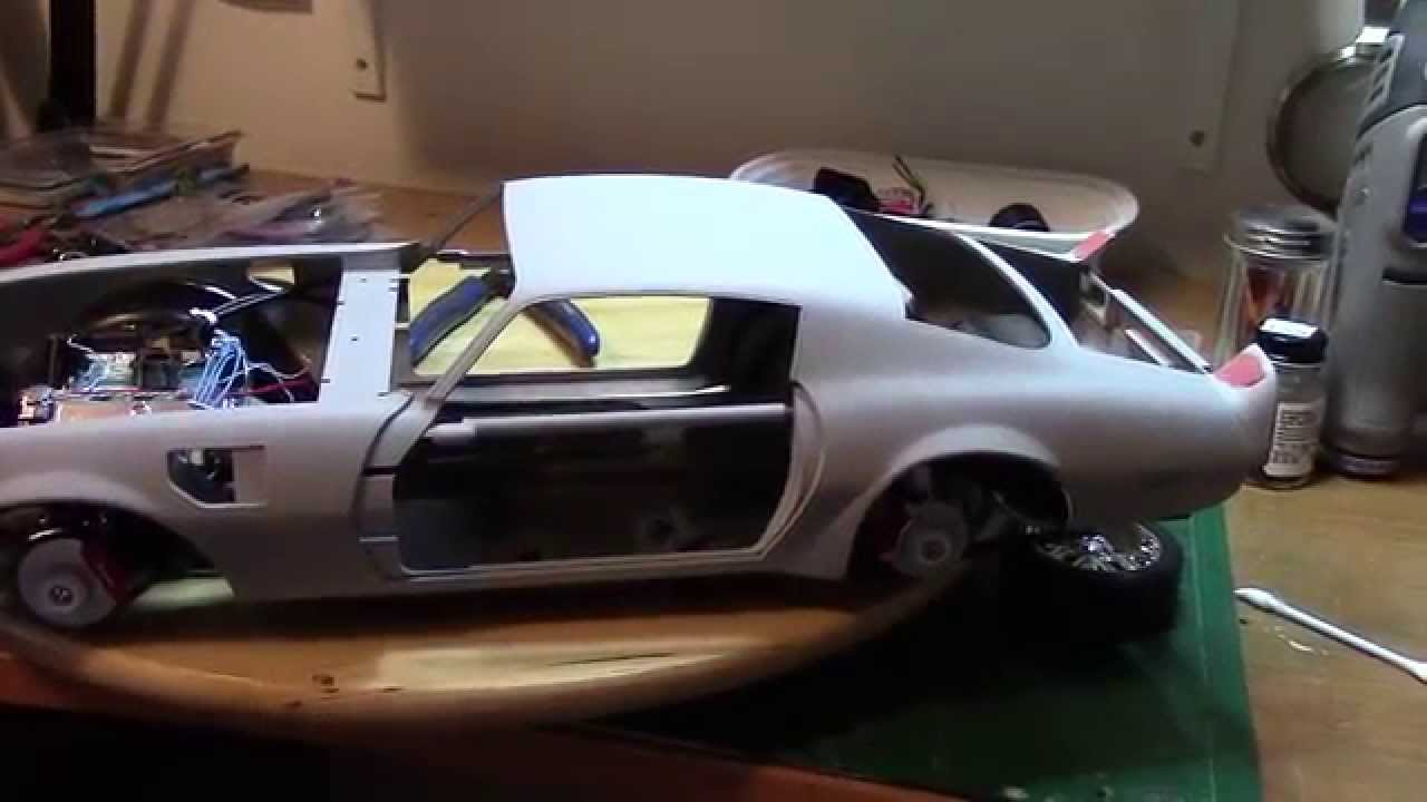 Scale Model Car 72 Pontiac Trans Am