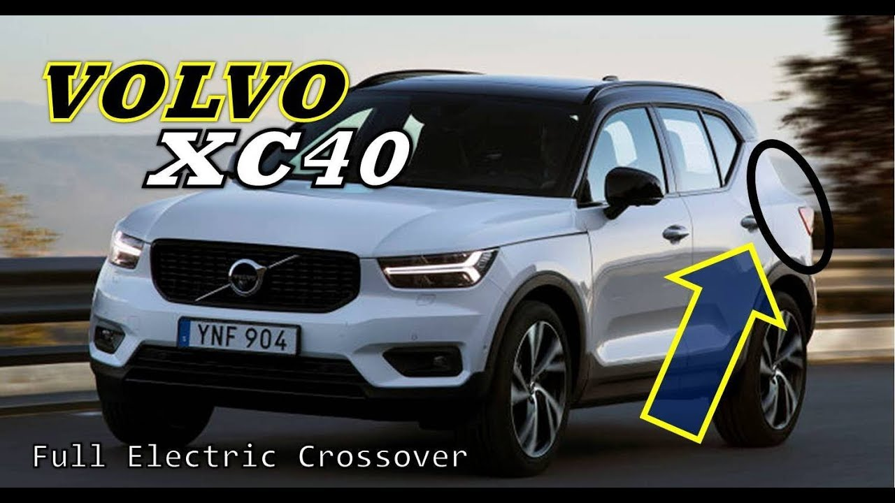 2019 volvo xc40 crossover - full electric